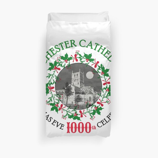 TATCHESTER CATHEDRAL (The Box of Delights) Duvet Cover