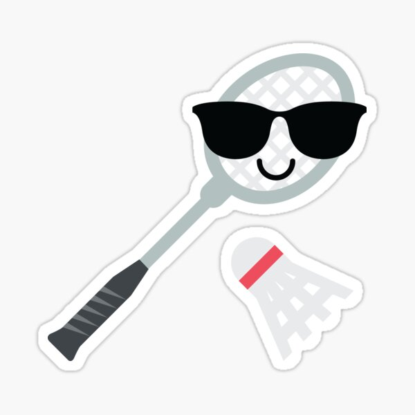 Badminton Emoji   Sticker