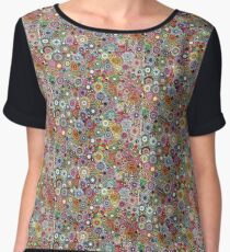 Childhood Dreams - Painted Spirograph Art Chiffon Top