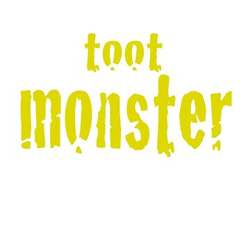 Toot Monster - Yellow by CaptureRadiance
