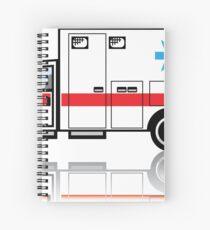 Ambulance Spiral Notebook