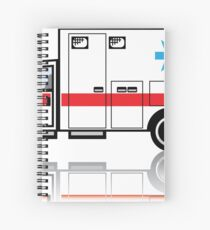 Ambulance Spiral Notebook