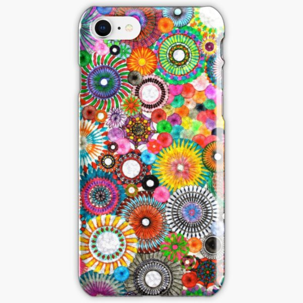 Childhood Dreams -filtered Spirograph Art iPhone Snap Case