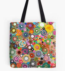 Childhood Dreams -filtered Spirograph Art Tote Bag