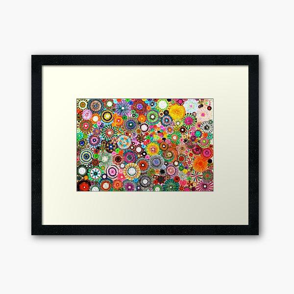Childhood Dreams -filtered Spirograph Art Framed Art Print