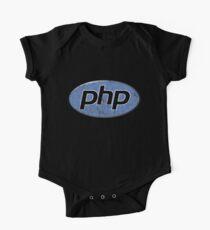 Vintage PHP Programmer Kids Clothes