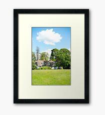 Cloud Above Framed Print