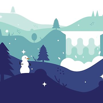 Snowman by NickPaull