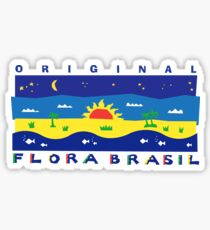 Brazil Night and Day Sticker
