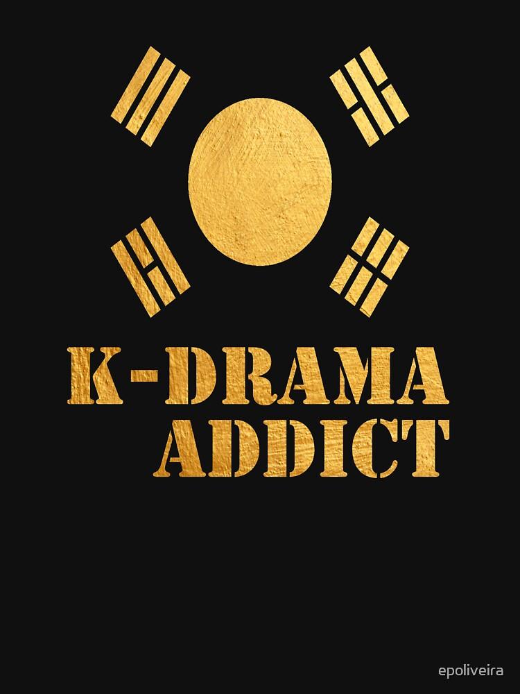 Golden K-drama Addict by epoliveira
