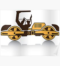 Heavy Machinery Poster