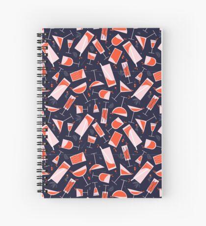 Cheers in vintage style! Spiral Notebook