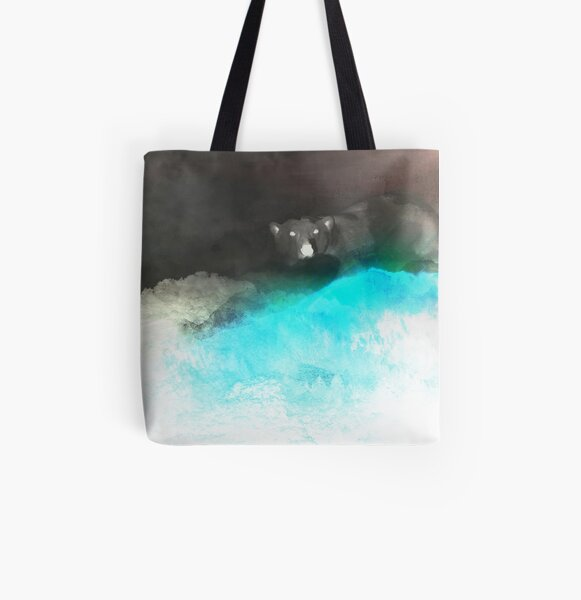 Mt. Polar (Inverted) All Over Print Tote Bag