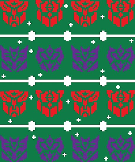 Ugly Transformers Sweater (G1 and G2) by Rodimus13