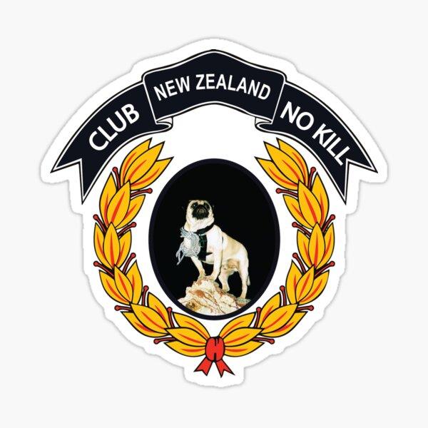 CLUB NO-KILL NEW ZEALAND Sticker