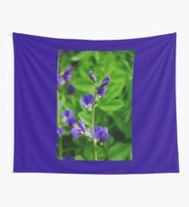 Violet Blue Wall Tapestry