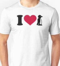 I love Penguin T-Shirt