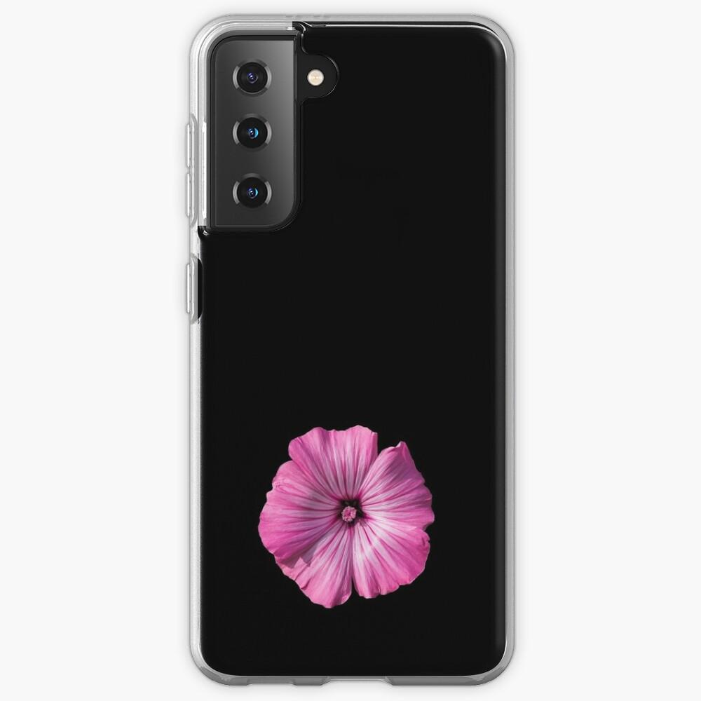 Pink Hibiscus Flower Case & Skin for Samsung Galaxy