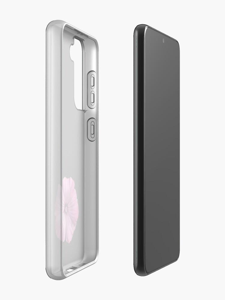 Alternate view of Pink Hibiscus Flower Case & Skin for Samsung Galaxy
