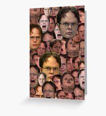 Tarjeta de felicitación Lo mejor de Dwight Schrute