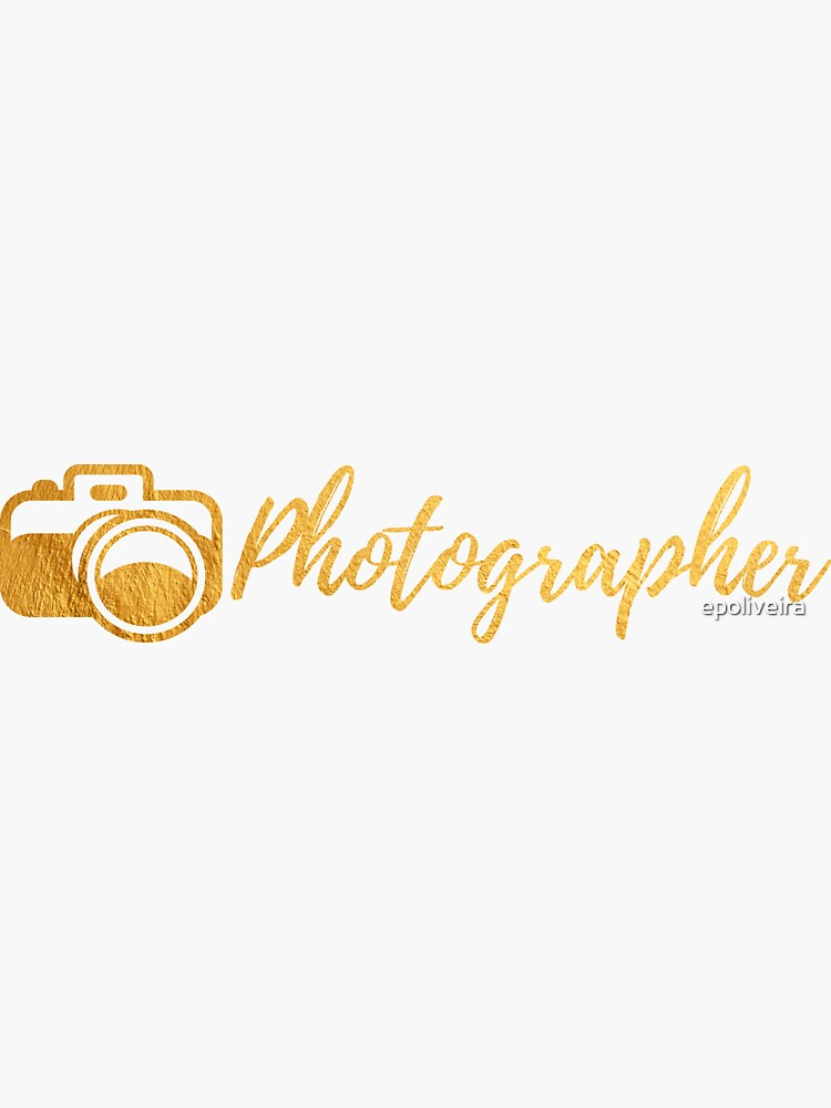 Photographer Gold by epoliveira