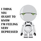 Marvin the Manically Depressed Android by Wolffdj