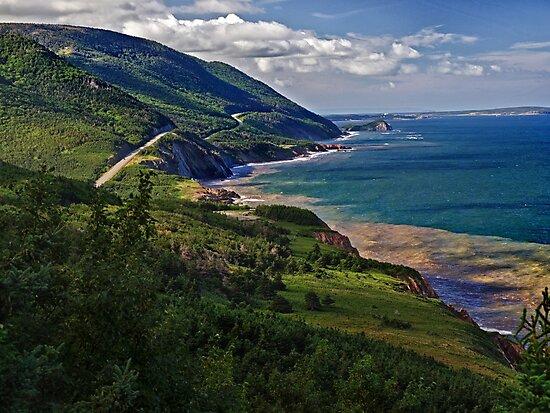 Cape Breton Highlands, Nova Scotia by Kathy Weaver