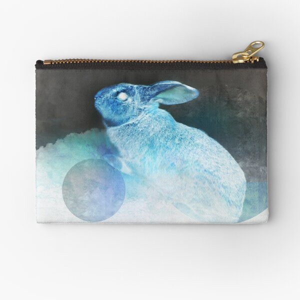 Creature of Rabbit (Inverted) Zipper Pouch