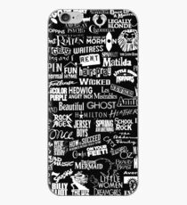 broadway baby {black and white version} iPhone Case
