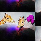 You Bet Giraffe by katmakesthings