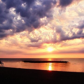 Lake Erie Sunset - Erie, PA by kdxweaver