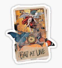 bad at love tarot card Sticker