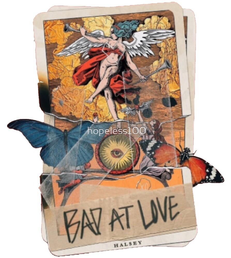 bad at love tarot card