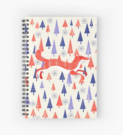 Holiday Mood Spiral Notebook