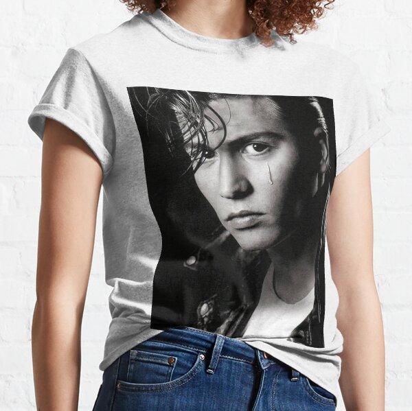 johnny depp tirage T-shirt classique