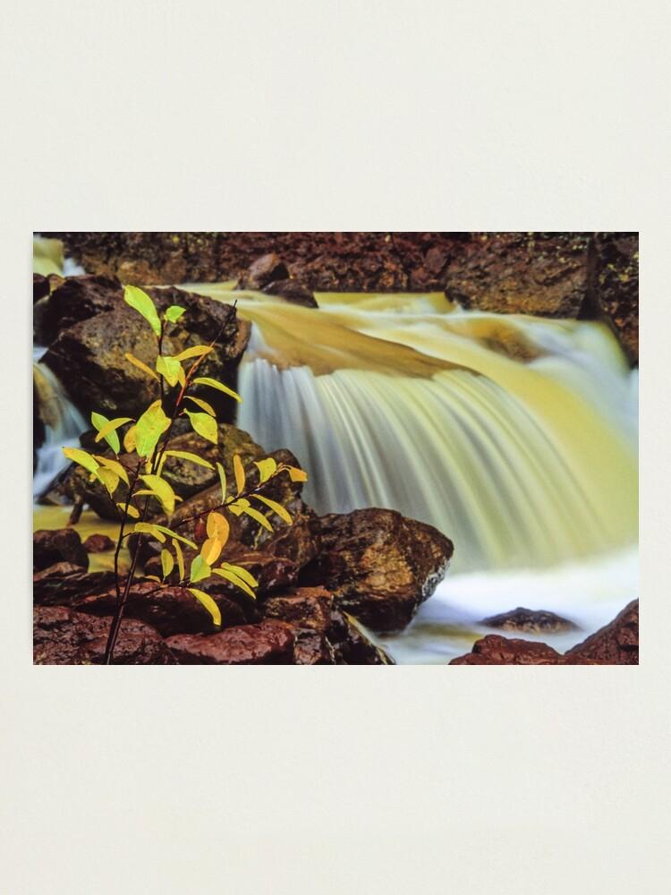 Alternate view of colorado waterfall Photographic Print