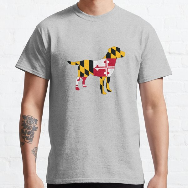Lab filled with love for Maryland! Classic T-Shirt