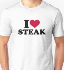 I love Steak Unisex T-Shirt