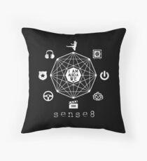 sense8 drama series Throw Pillow