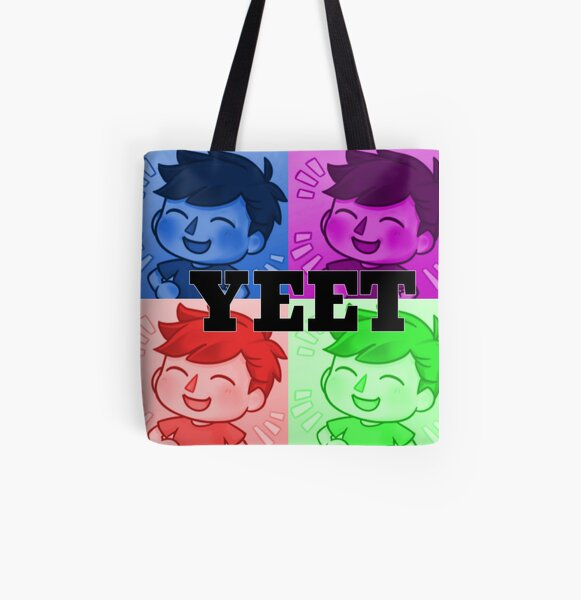 ALBERTSSTUFF YEET All Over Print Tote Bag