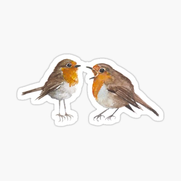 Robin & Marian Sticker