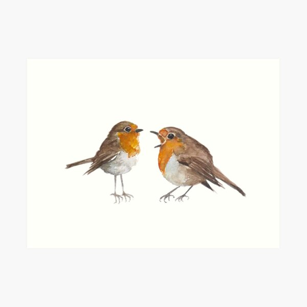 Robin & Marian Art Print