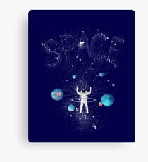 space!!!! Canvas Print