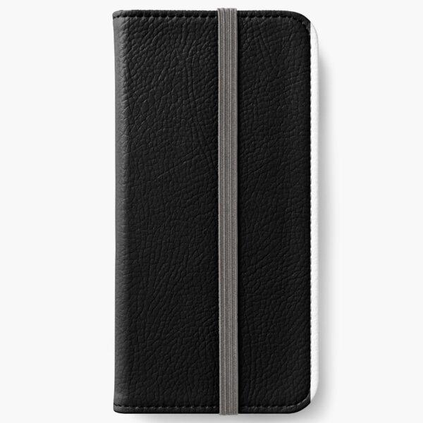 Dark Check iPhone Wallet