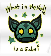 What in the world is a Gabe? Poster