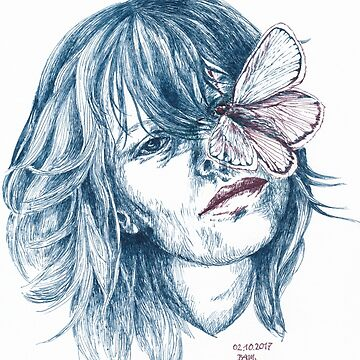 Augen-Schmetterling by feigenherz