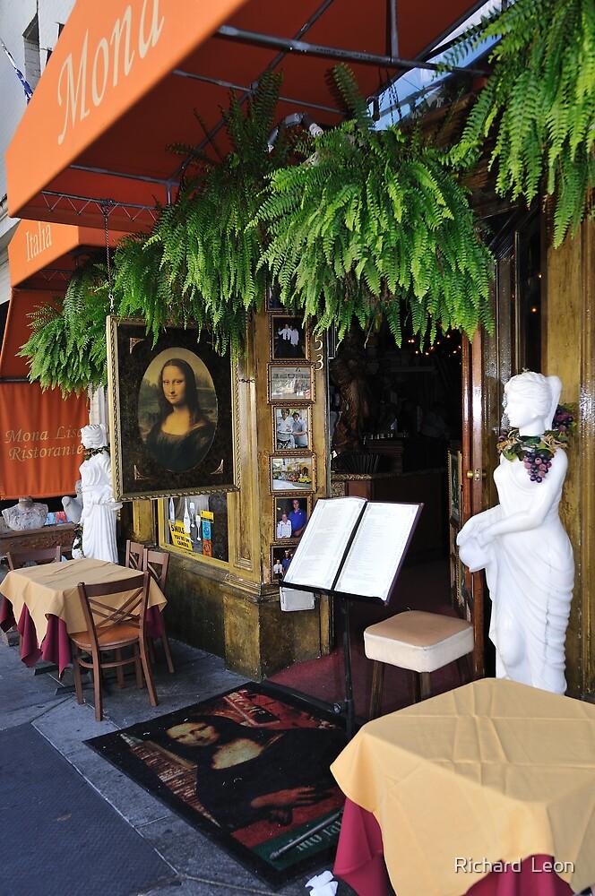 Mona Lisa Ristorante  •  North Beach  •  San Francisco by Richard  Leon