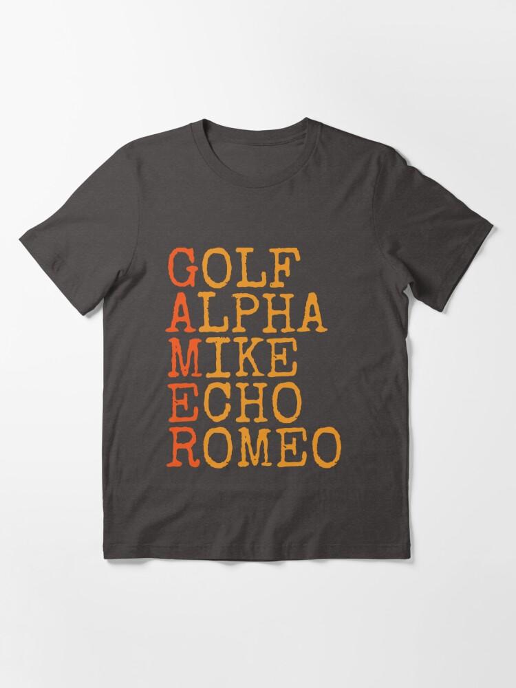 Alternate view of Gamer Phonetics Essential T-Shirt