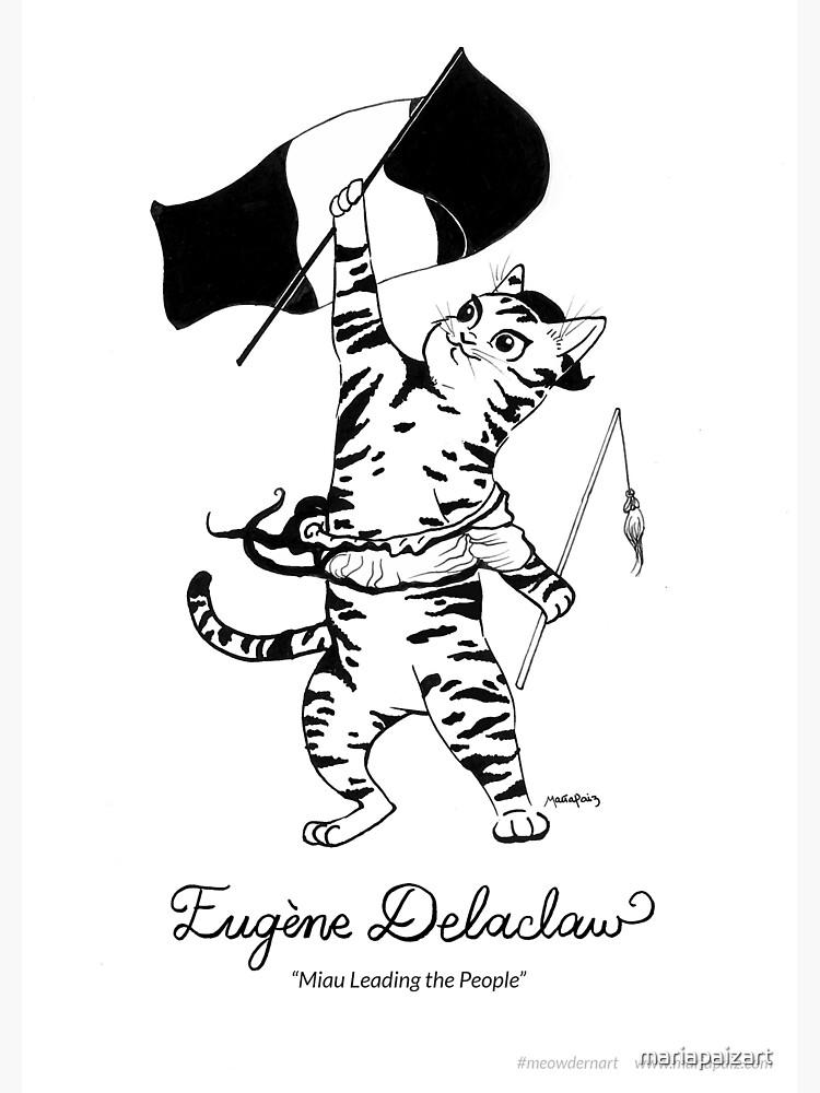 #meowdernart - Eugene Delaclaw by mariapaizart