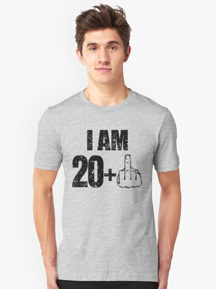 Funny Im 21 Birthday Shirt 21st Unisex T Front